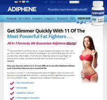 Adiphene sito web ufficiale
