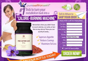 Pure Saffron Slim Italia Website