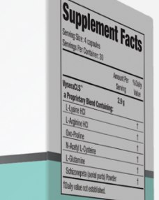 Vysera Ingredients